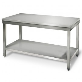 TABLE INOX L 700 x P 600 x H 850 mm