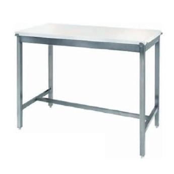 TABLE INOX 120 x 70 cm