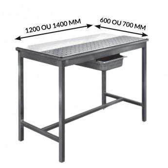 TABLES DESSOUVIDAGE AVANT-ARRIÈRE CENTRALES