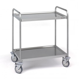 CHARIOT DE TRANSPORT 2 ETAGERES 800X500 CS-208