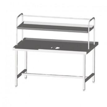 Table centrale pour lave vaisselle Sammic