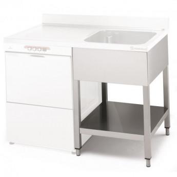 Bâtis pour encastrer un lave-vaisselle sous l'égouttoir